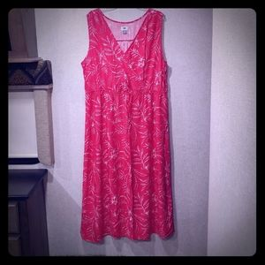 Old Navy floral Maxi sleeveless dress